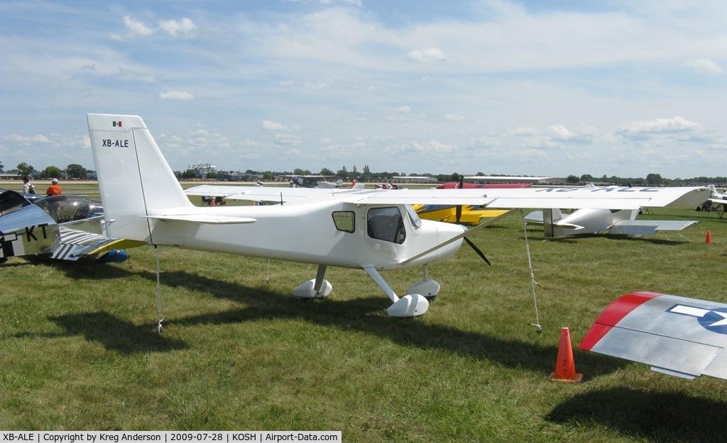 XB-ALE, Ultravia Pelican Sport 600 C/N 0000, EAA Airventure 2009