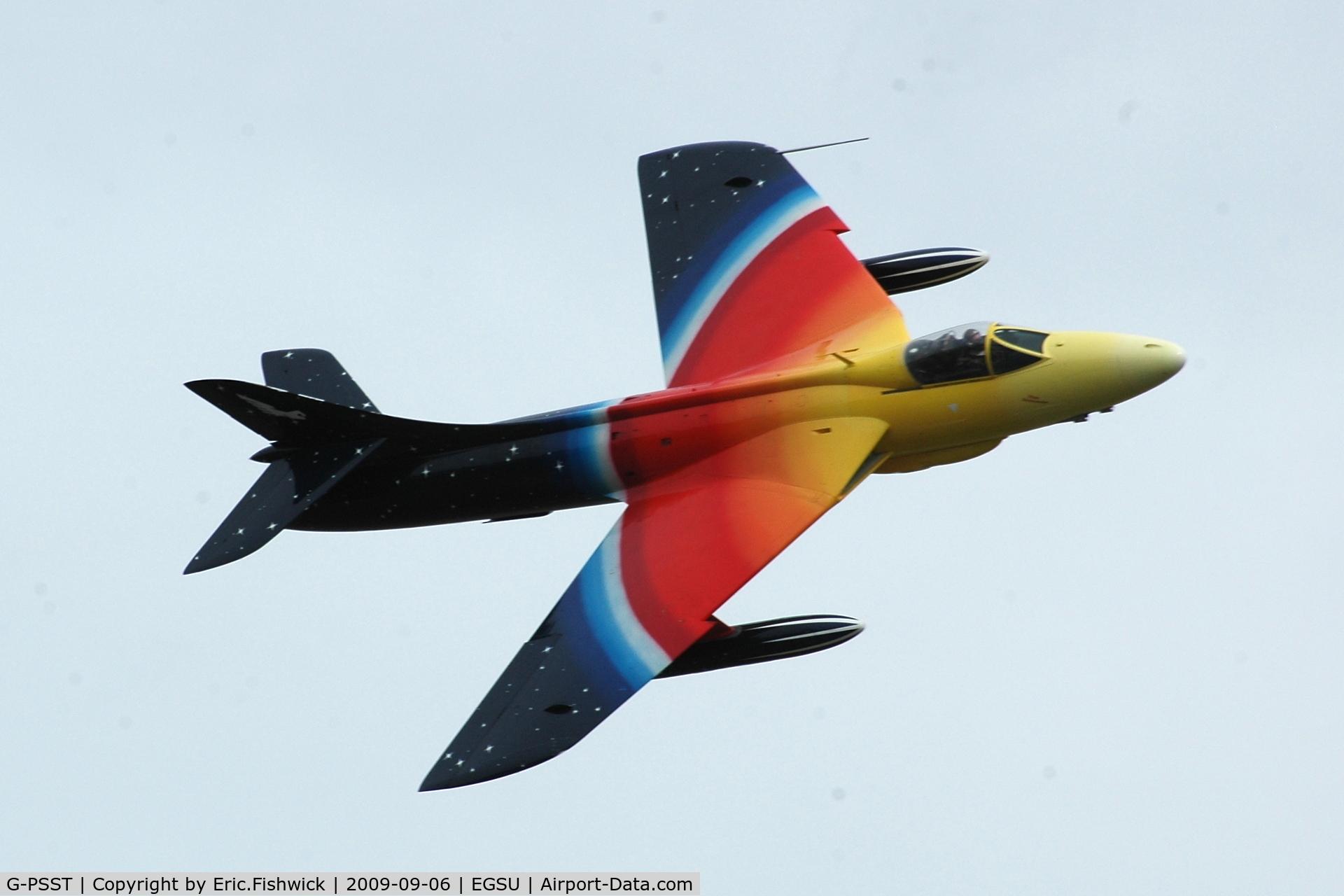 G-PSST, 1959 Hawker Hunter F.58A C/N HABL-003115, 4. Miss Demeanour  at The Duxford Air Show Sep 09