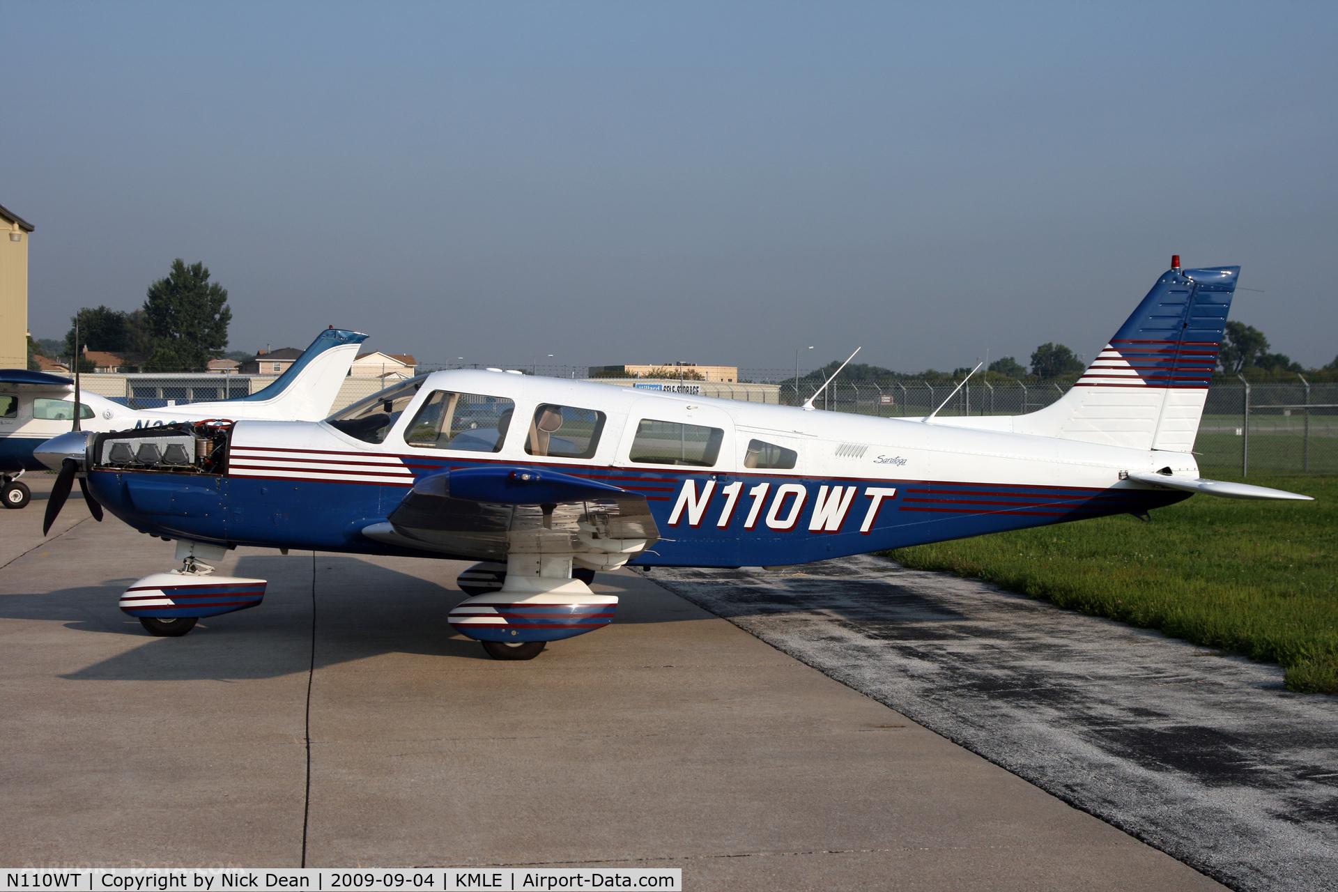 N110WT, 1989 Piper PA-32-301 Saratoga C/N 3206050, KMLE