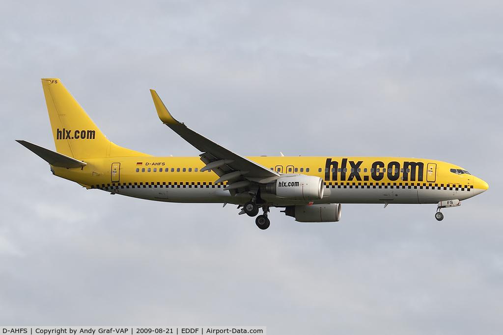 D-AHFS, 2000 Boeing 737-8K5 C/N 28623, Hapag Llloyd Express 737-800