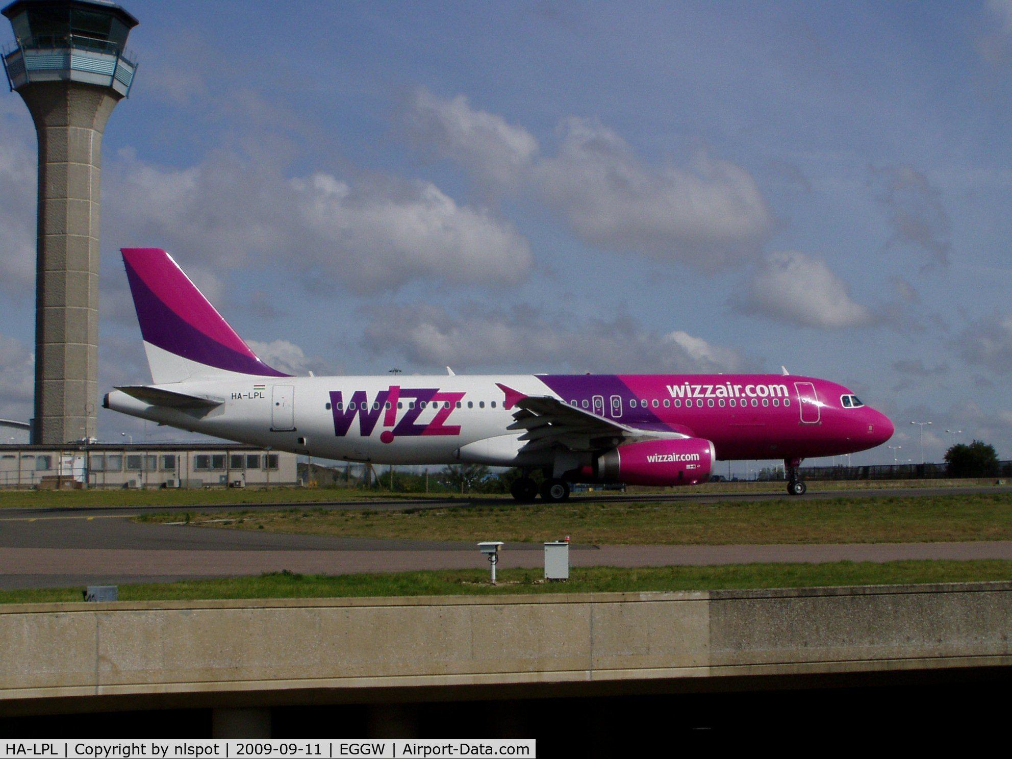 HA-LPL, 2007 Airbus A320-232 C/N 3166, ...