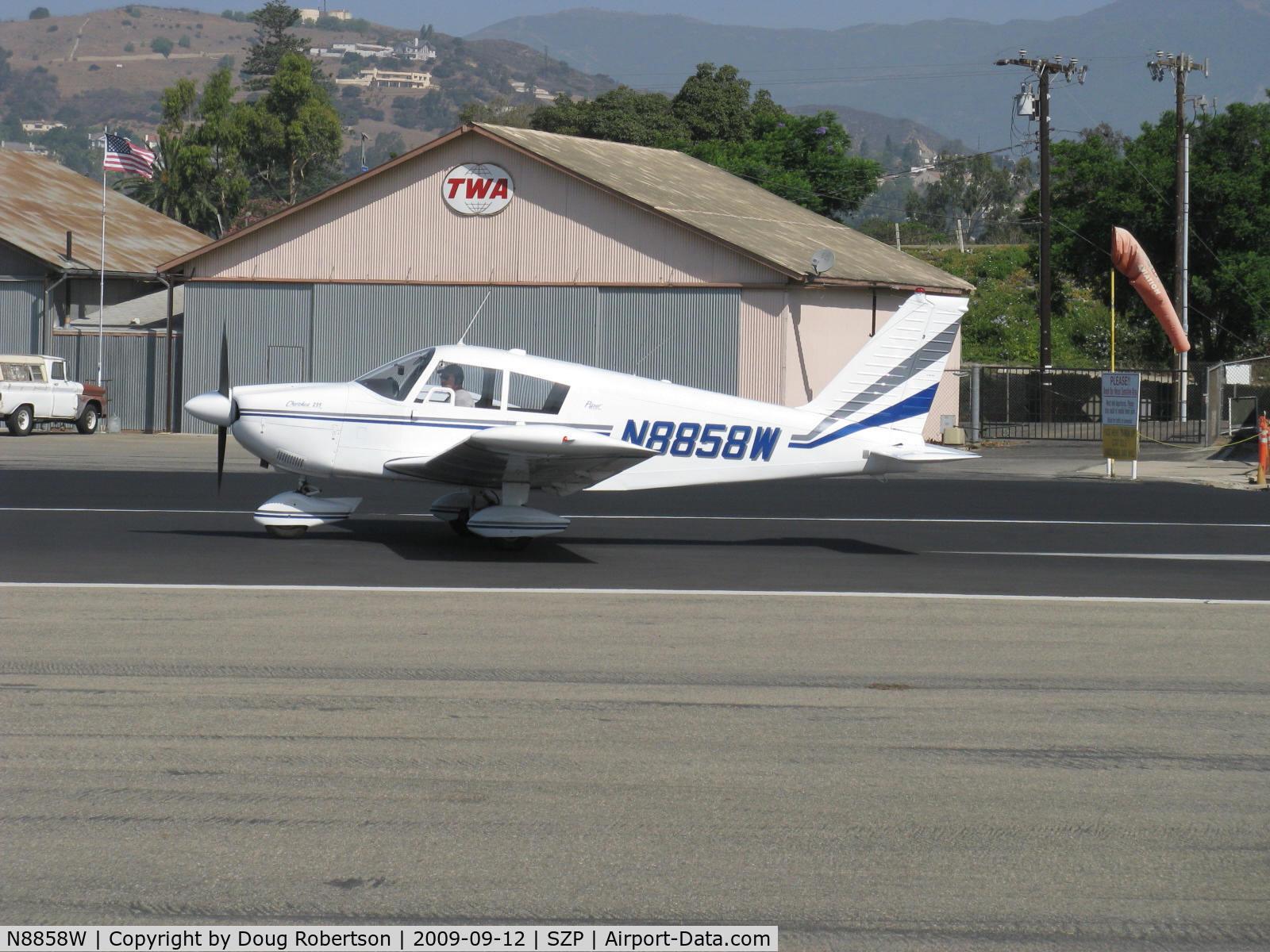 Aircraft N8858W (1964 Piper PA-28-235 C/N 28-10412) Photo by