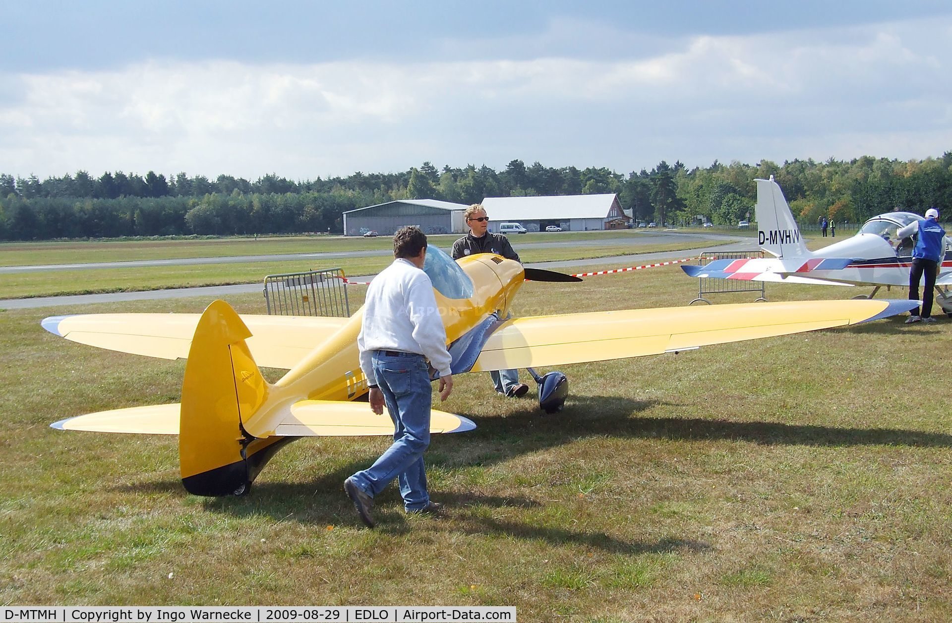 D-MTMH, 2000 Silence Twister C/N 001, Silence Twister prototype at the 2009 OUV-Meeting at Oerlinghausen airfield