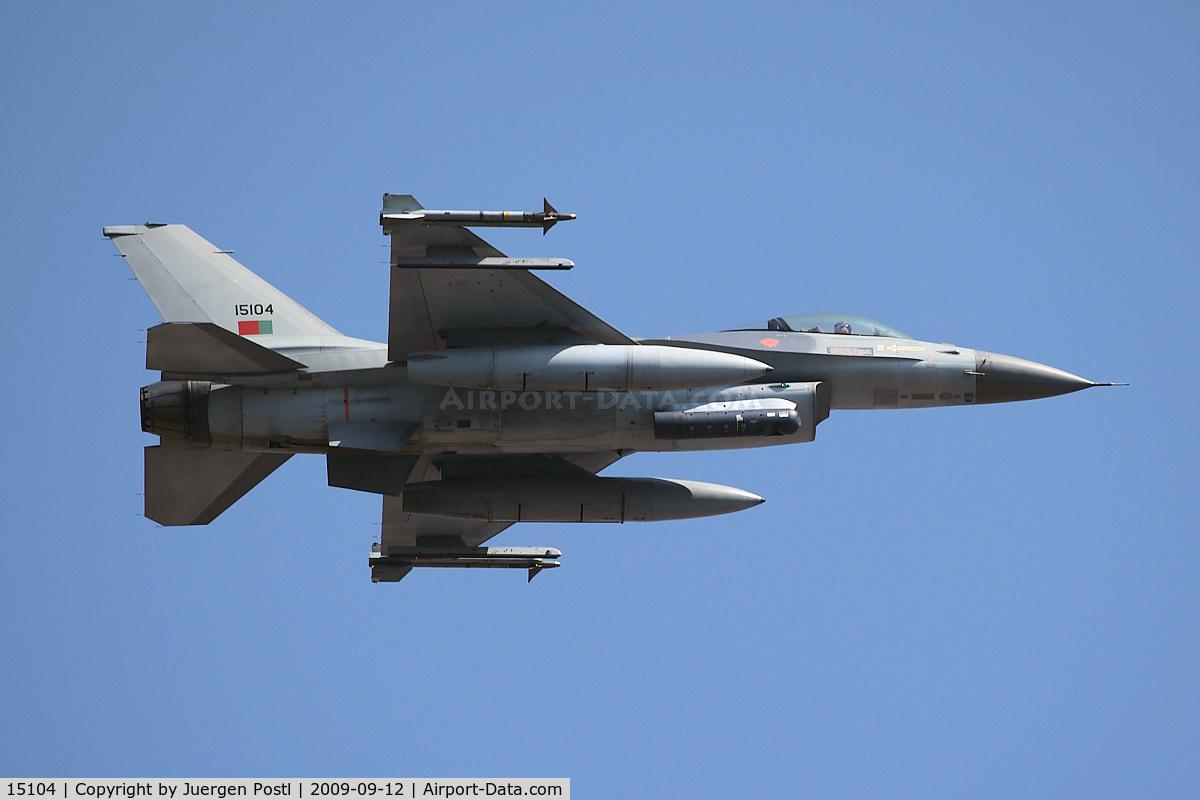 15104, Lockheed F-16AM Fighting Falcon C/N AA-4, Red Bull Air Race Porto 2009 - Portugal Air Force Lockheed F-16A Fighting Falcon