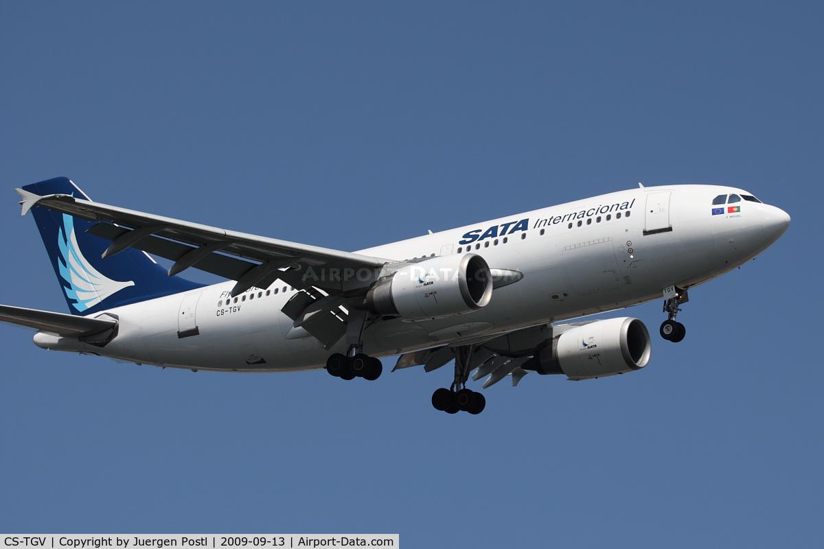 CS-TGV, 1992 Airbus A310-304 C/N 651, Red Bull Air Race Porto 2009 - SATA International - Airbus A310-304