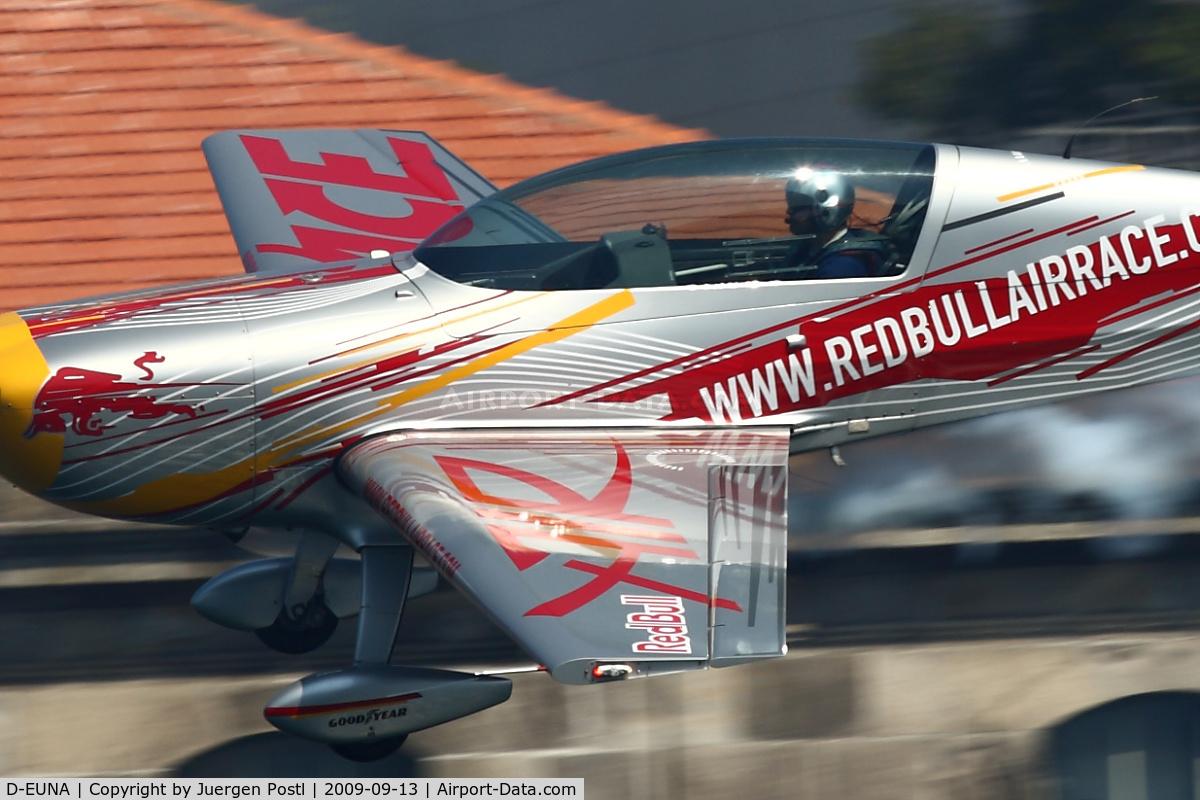 D-EUNA, Extra EA-300LP C/N 1251, Red Bull Air Race Porto 2009 - Extra EA-300LP