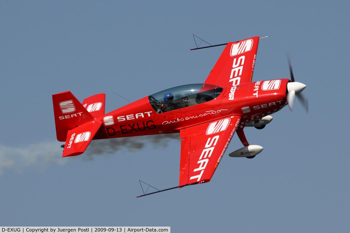 D-EXUG, 2002 Extra EA-300L C/N 152, Red Bull Air Race Porto 2009 - Extra EA-300L