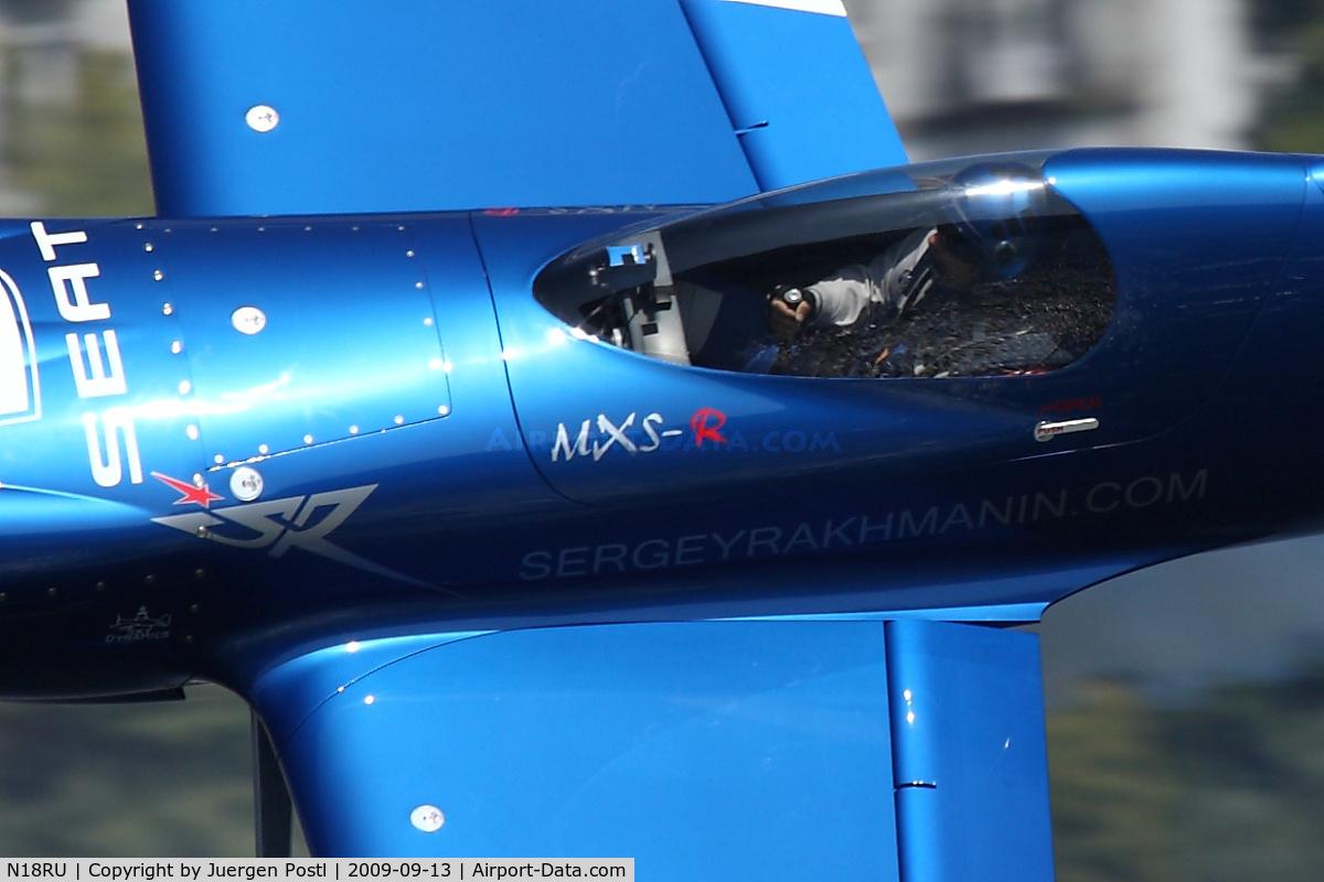 N18RU, MX Aircraft MXS C/N 5, Red Bull Air Race Porto 2009 - Sergey Rakhmanin