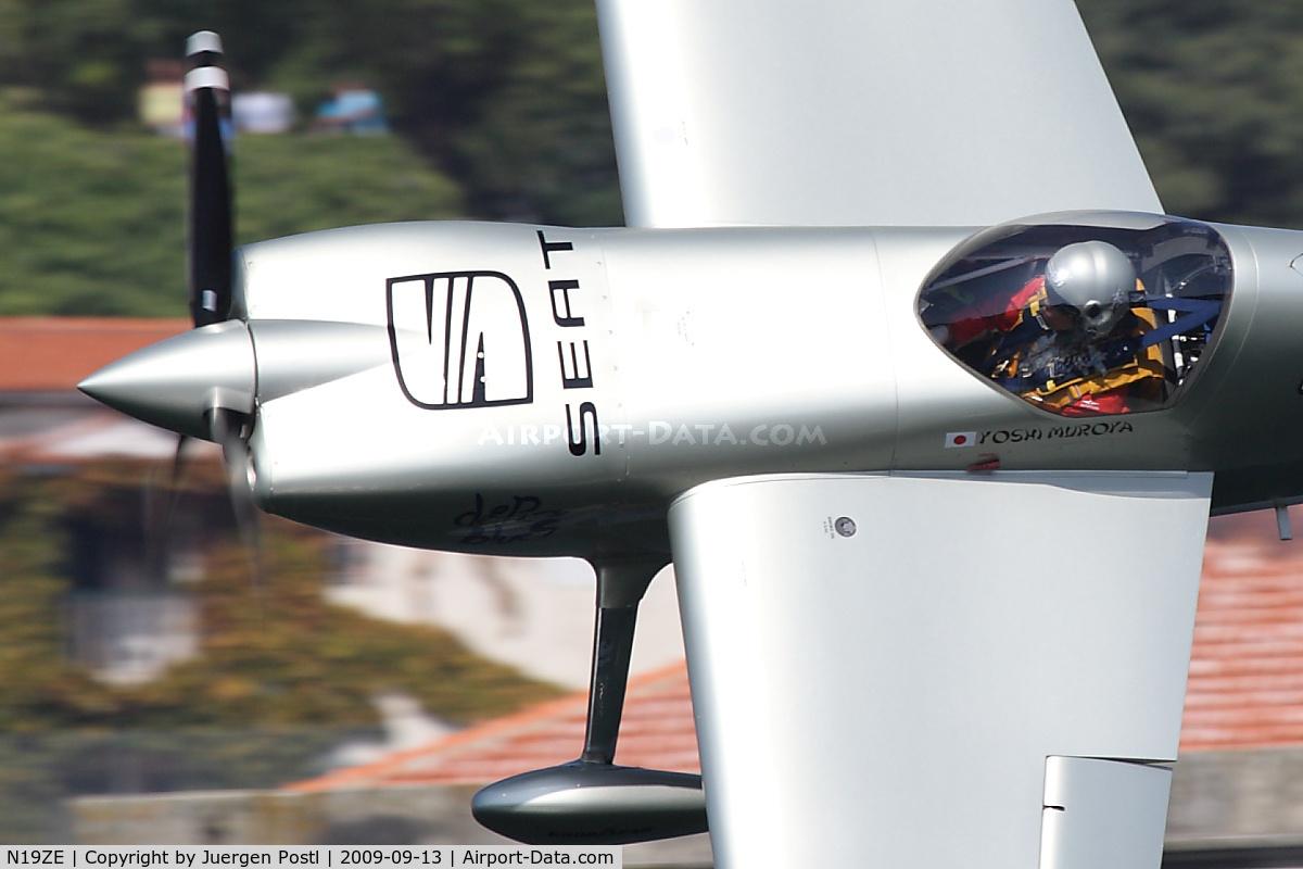 N19ZE, 2007 Zivko EDGE 540 C/N 0039A, Red Bull Air Race Porto 2009 - Yoshihide Muroya