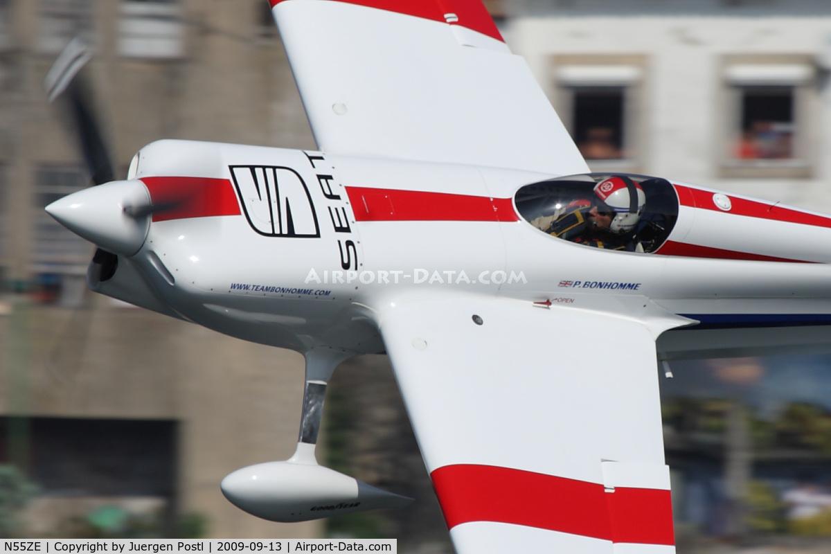 N55ZE, 2007 Zivko EDGE 540 C/N 0040A, Red Bull Air Race Porto 2009 - Paul Bonhomme