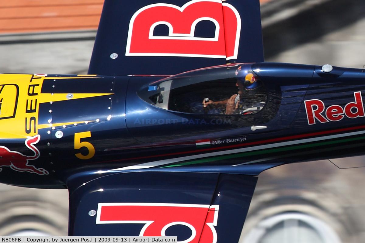 N806PB, MX Aircraft MXS C/N 4, Red Bull Air Race Porto 2009 - Peter Besenyei