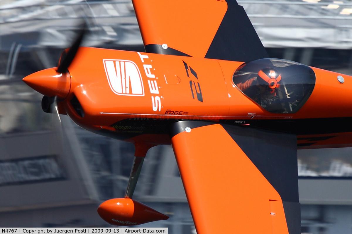 N4767, Zivko EDGE 540 C/N 0045, Red Bull Air Race Porto 2009 - Nicolas Ivanoff