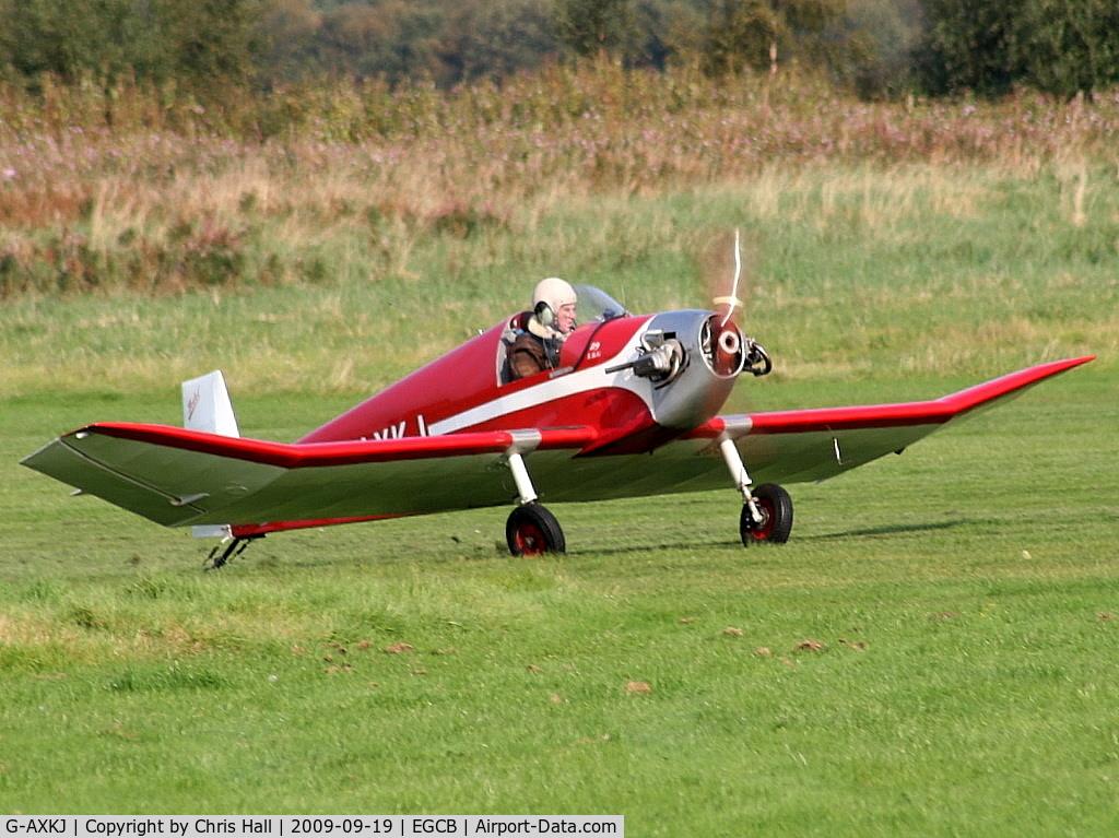 G-AXKJ, 1970 Jodel D-9 Bebe Bebe C/N PFA 941, Barton Fly-in and Open Day