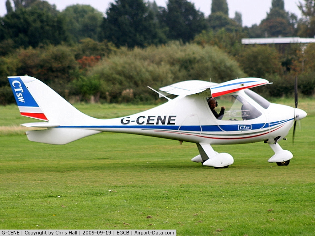 G-CENE, 2007 Flight Design CTSW C/N 8273, Barton Fly-in and Open Day