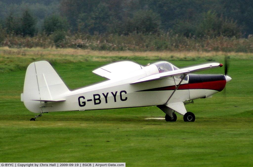 G-BYYC, 2000 Hapi Cygnet SF-2A C/N PFA 182-12311, Barton Fly-in and Open Day