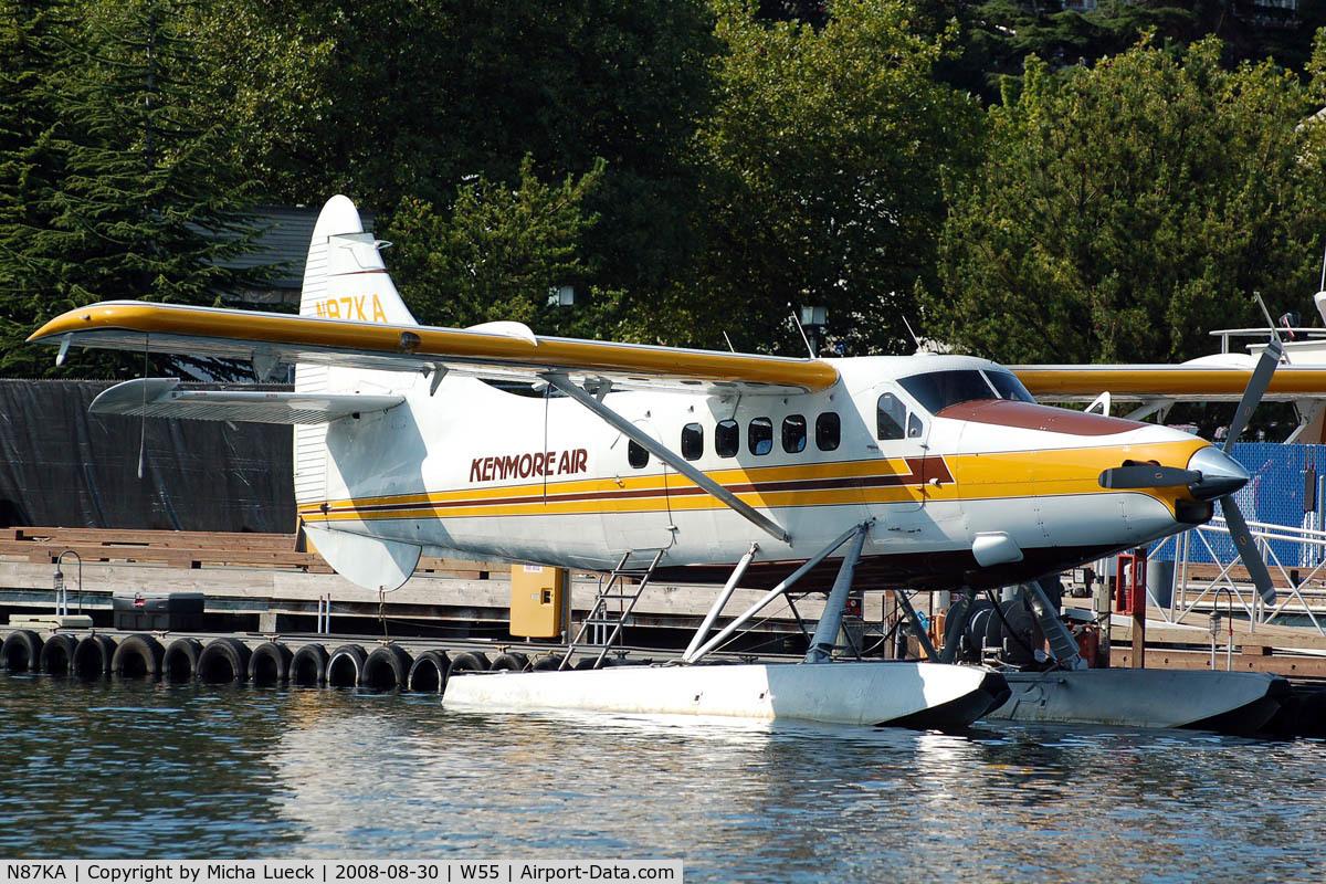 N87KA, 1953 De Havilland Canada DHC-3 Otter C/N 11, At Lake Union, Seattle, WA