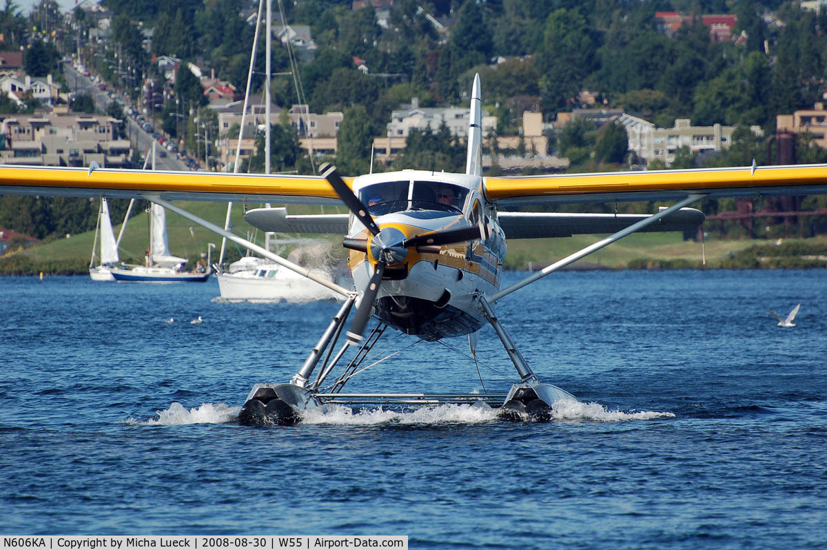 N606KA, 1954 De Havilland Canada DHC-3 Turbo Otter Otter C/N 37, At Lake Union, Seattle, WA