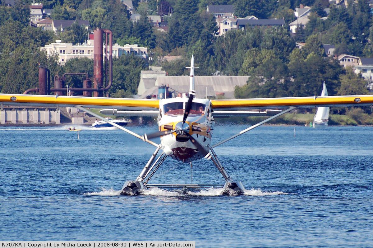 N707KA, De Havilland Canada DHC-3 Otter C/N 106, At Lake Union, Seattle, WA