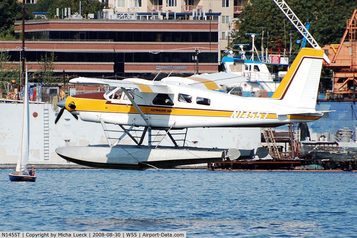 N1455T, 1966 De Havilland Canada DHC-2 Turbo Beaver Mk.3 C/N 1647TB26, At Lake Union, Seattle, WA
