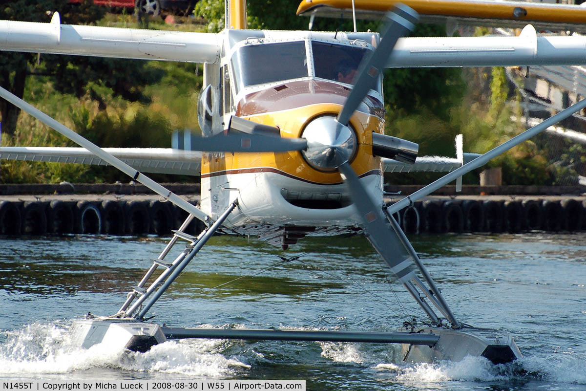 N1455T, 1966 De Havilland Canada DHC-2 Turbo Beaver Mk.3 C/N 1647TB26, At Lake Union, Seattle, WA