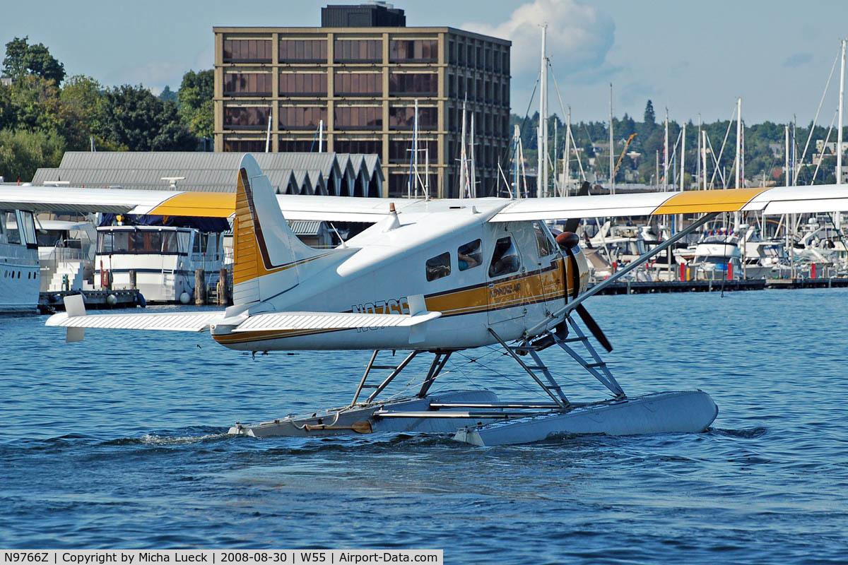 N9766Z, 1953 De Havilland Canada U-6A Beaver C/N 504, At Lake Union, Seattle, WA