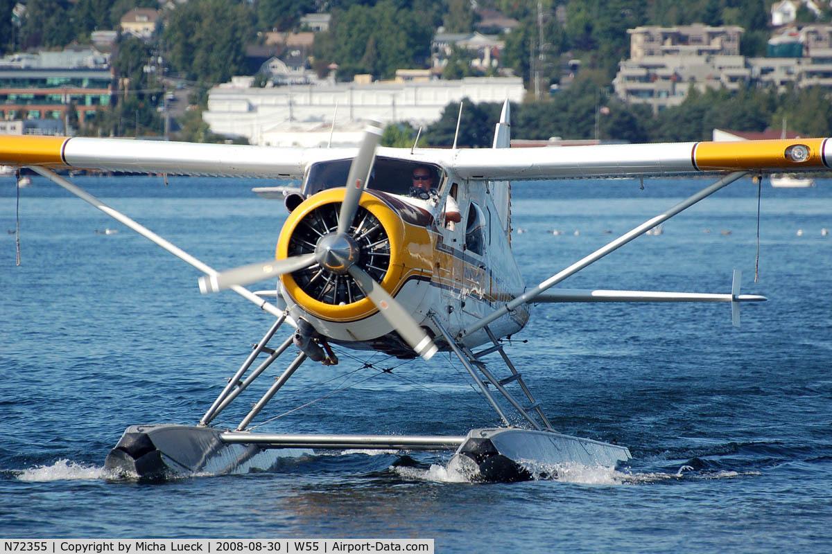 N72355, 1957 De Havilland Canada U-6A Beaver C/N 1164, At Lake Union, Seattle, WA