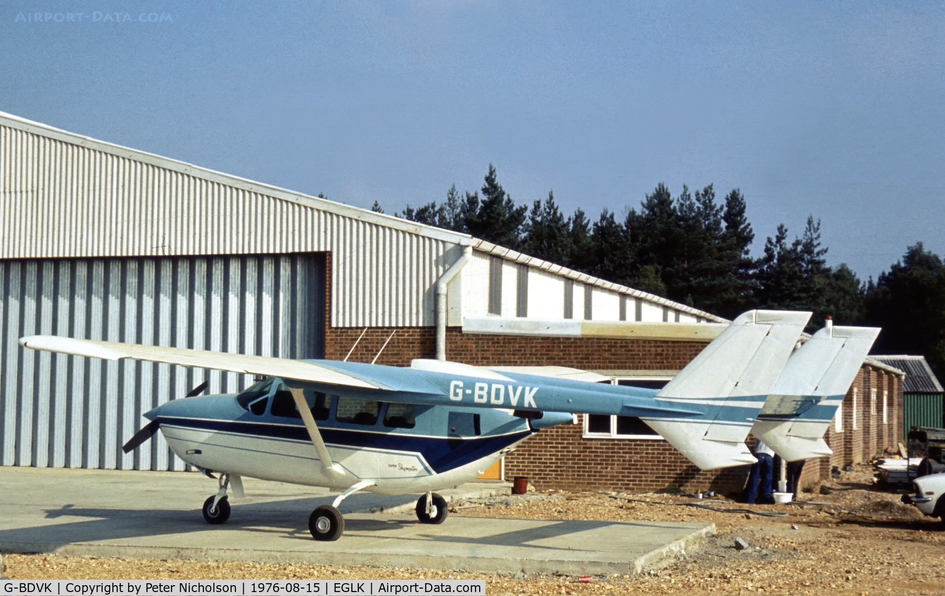 Aircraft G-BDVK (1971 Reims F337F Super Skymaster C/N F3370031