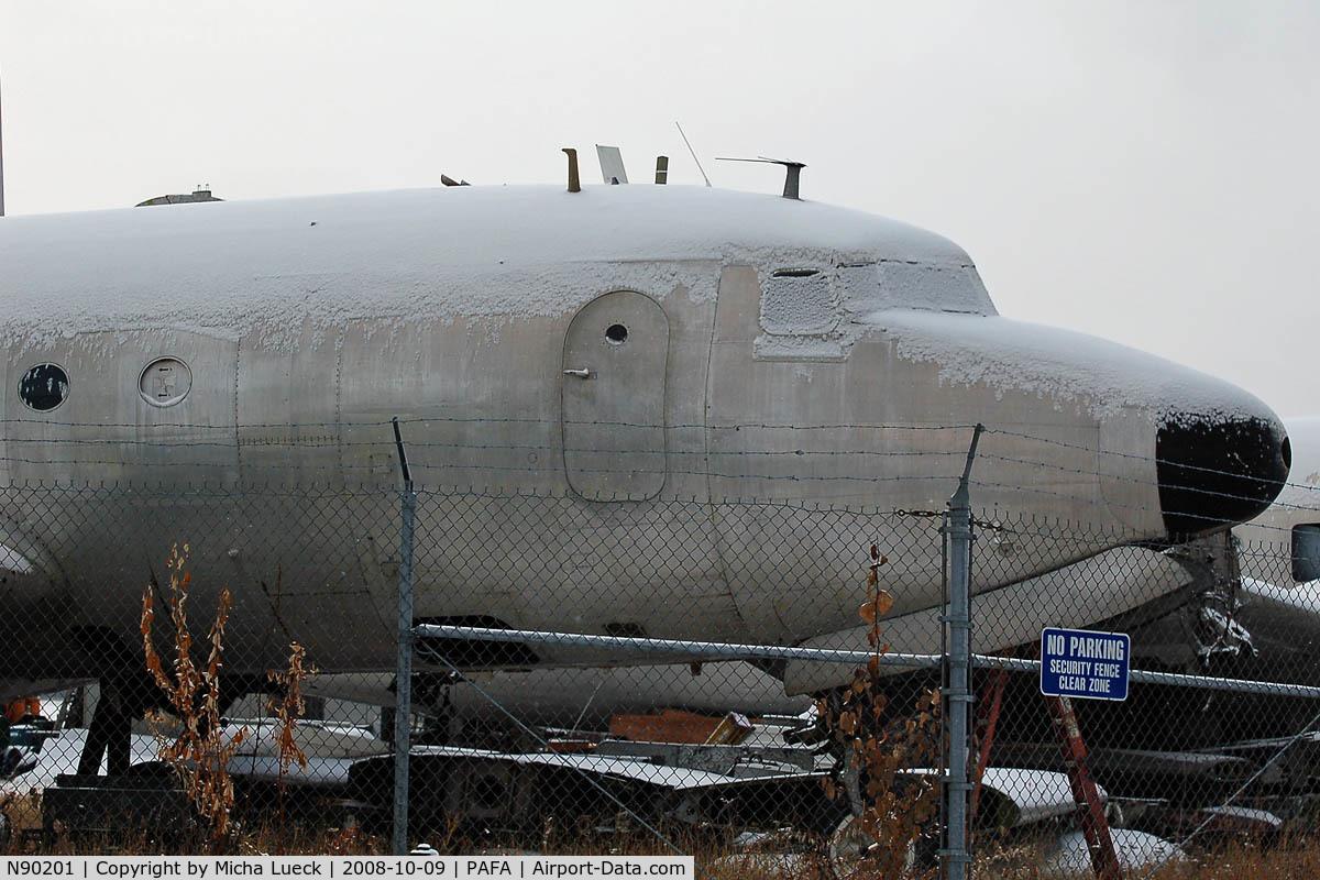 N90201, 1945 Douglas C-54D Skymaster C/N 10828, At Fairbanks, Alaska