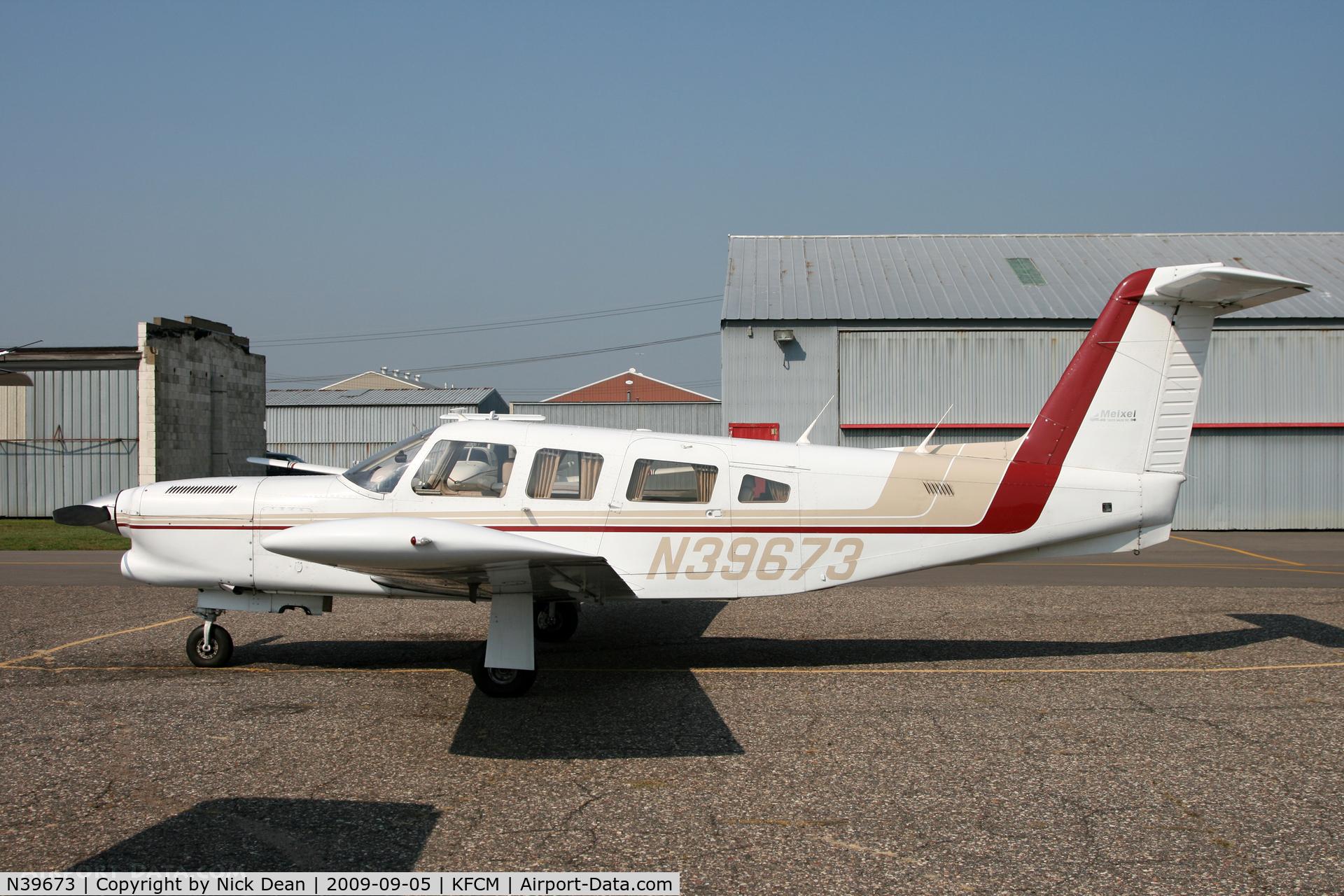 N39673, 1978 Piper PA-32RT-300T Turbo Lance II C/N 32R-7887139, KFCM