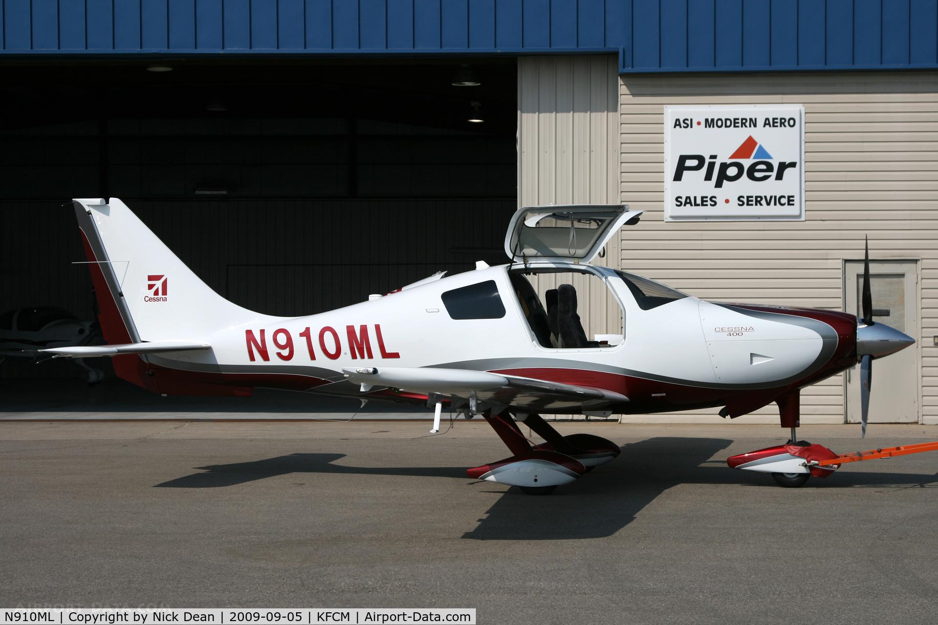 N910ML, 2008 Cessna LC41-550FG C/N 411031, KFCM