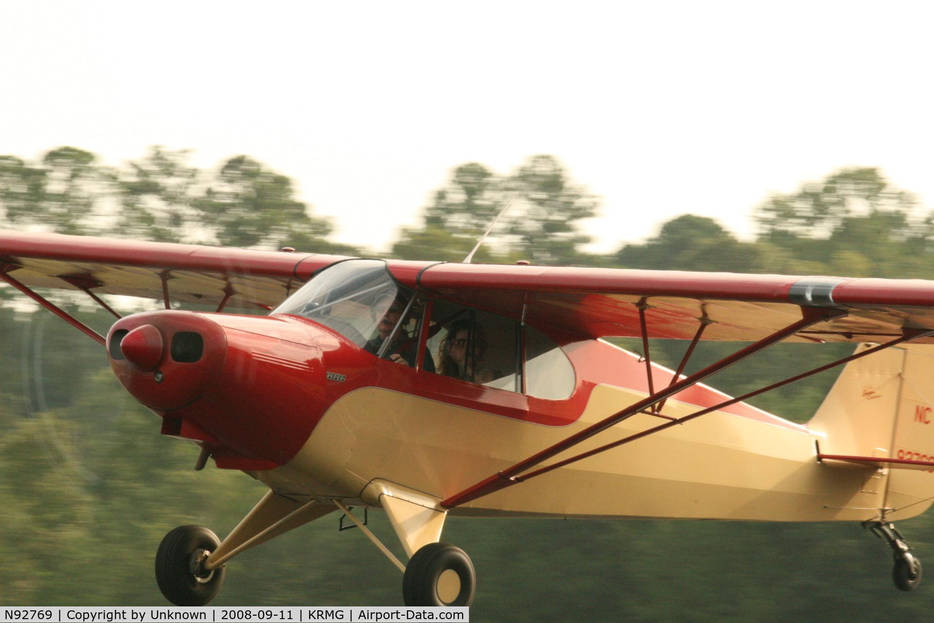 Aircraft N92769  1946 Piper Pa N 12