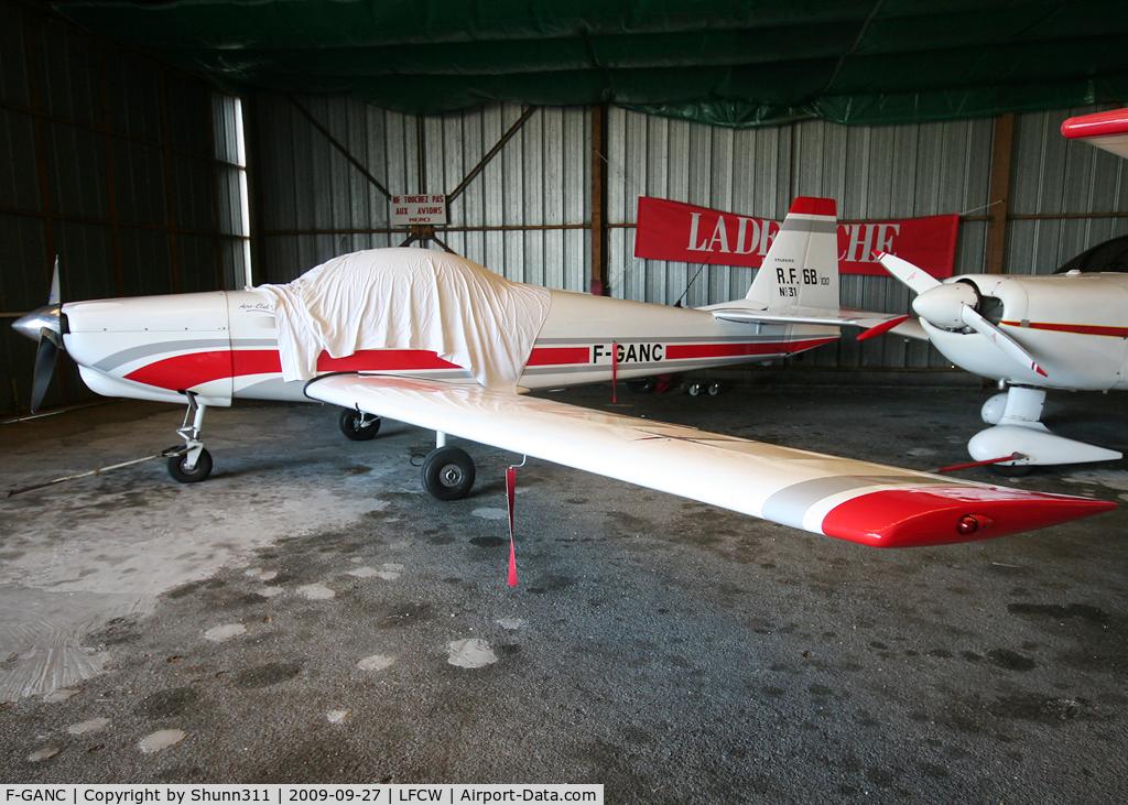 F-GANC, Fournier RF-6B-100 C/N 31, Parked in the hangar...