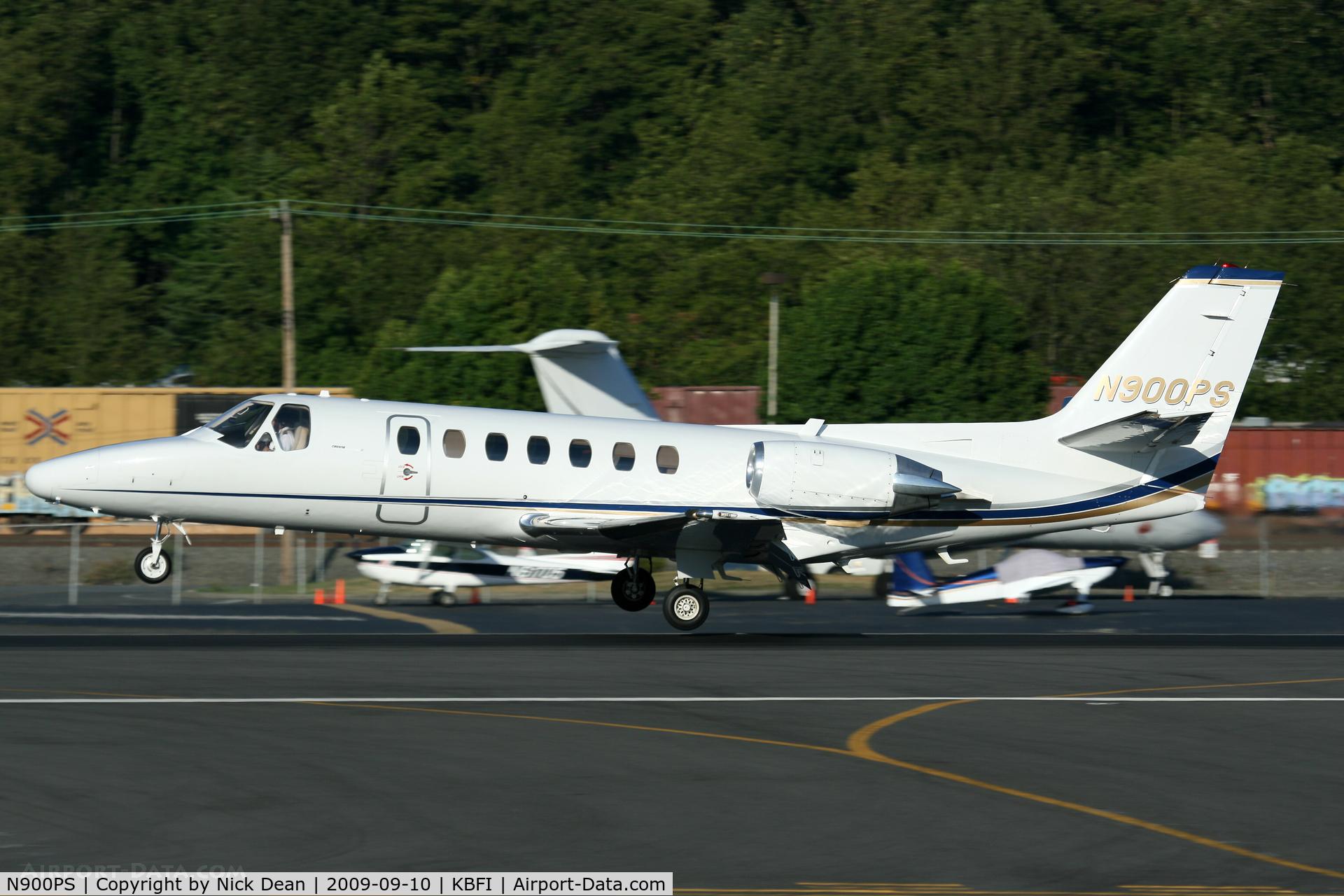 N900PS, 1991 Cessna 560 Citation V C/N 560-0118, KBFI