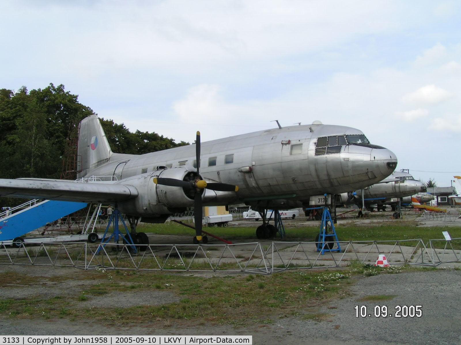 3133, Avia Av-14R C/N 156913133, Ilyushin IL-14