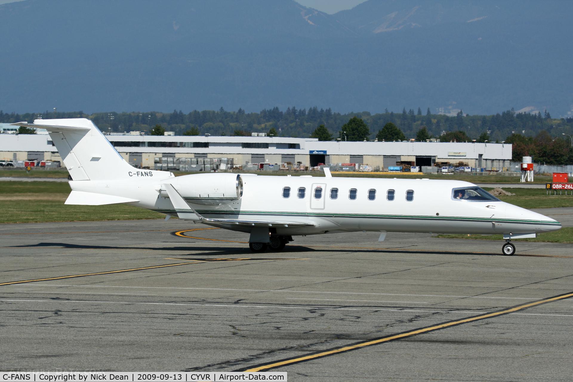 C-FANS, 2006 Learjet 45 C/N 303, CYVR