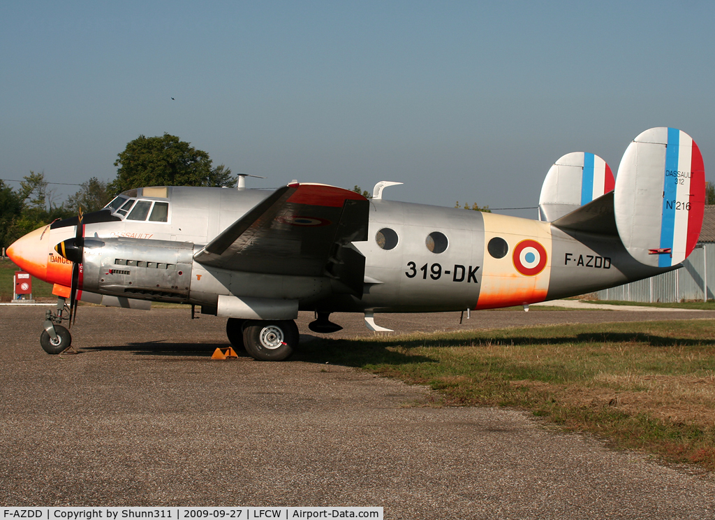 F-AZDD, Dassault MD-312 Flamant C/N 216, Parked at his home base