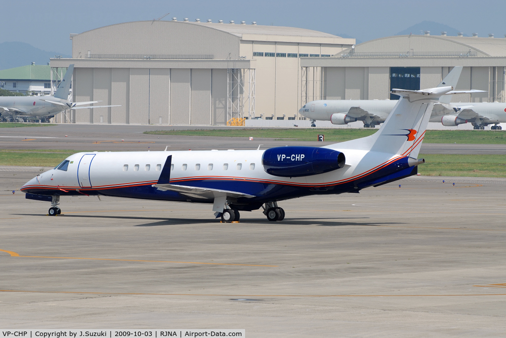 VP-CHP, 2004 Embraer EMB-135BJ Legacy C/N 14500802, Jet Aviation Business Jet