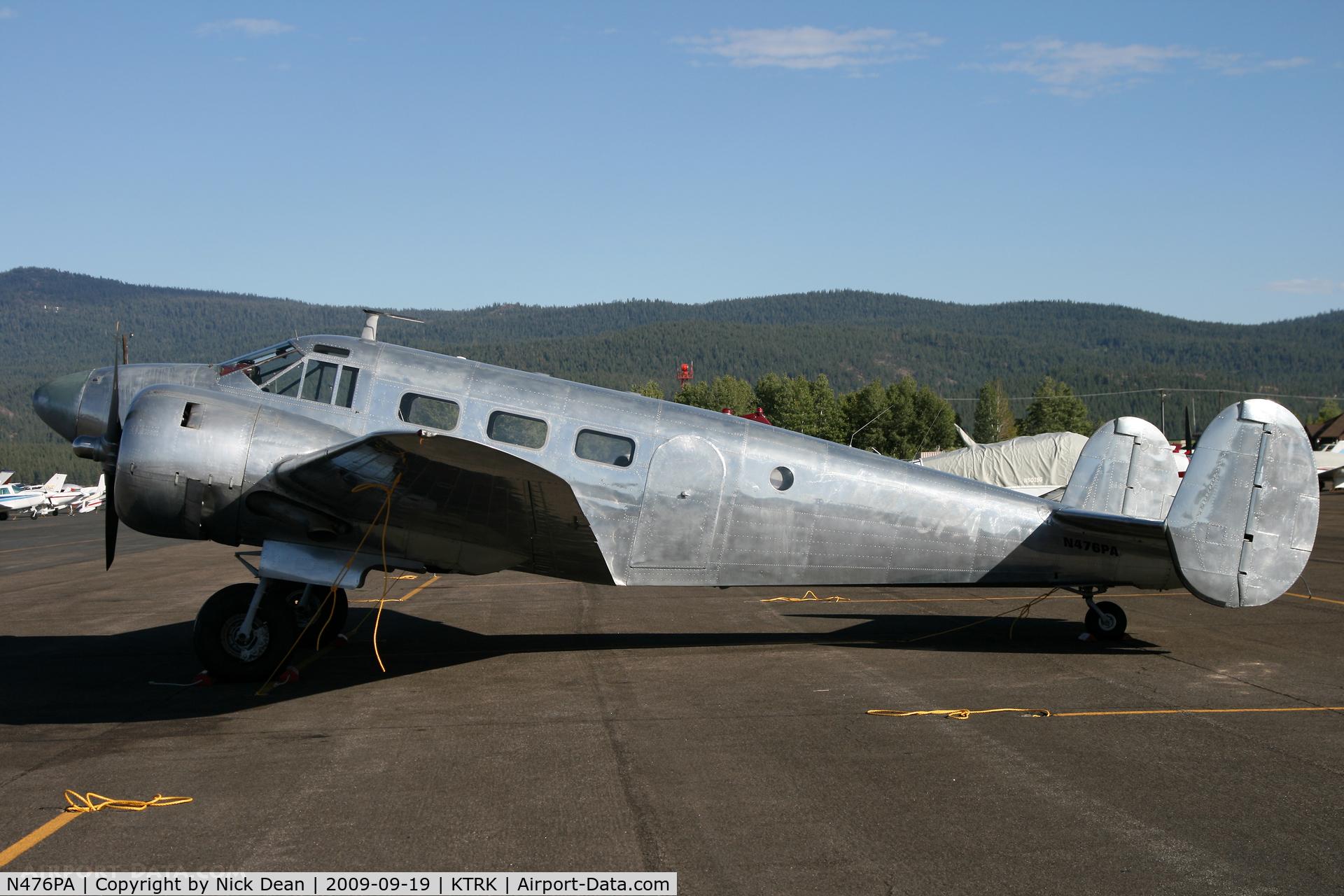N476PA, 1952 Beech Expeditor 3NM C/N CA-265, KTRK