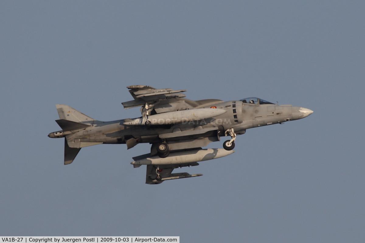 VA1B-27, McDonnell Douglas EAV-8B+ Matador II C/N E16-SP-04, Red Bull Air Race Barcelona 2009 - Spain Navy - McDonnell Douglas EAV-8B Harrier II+