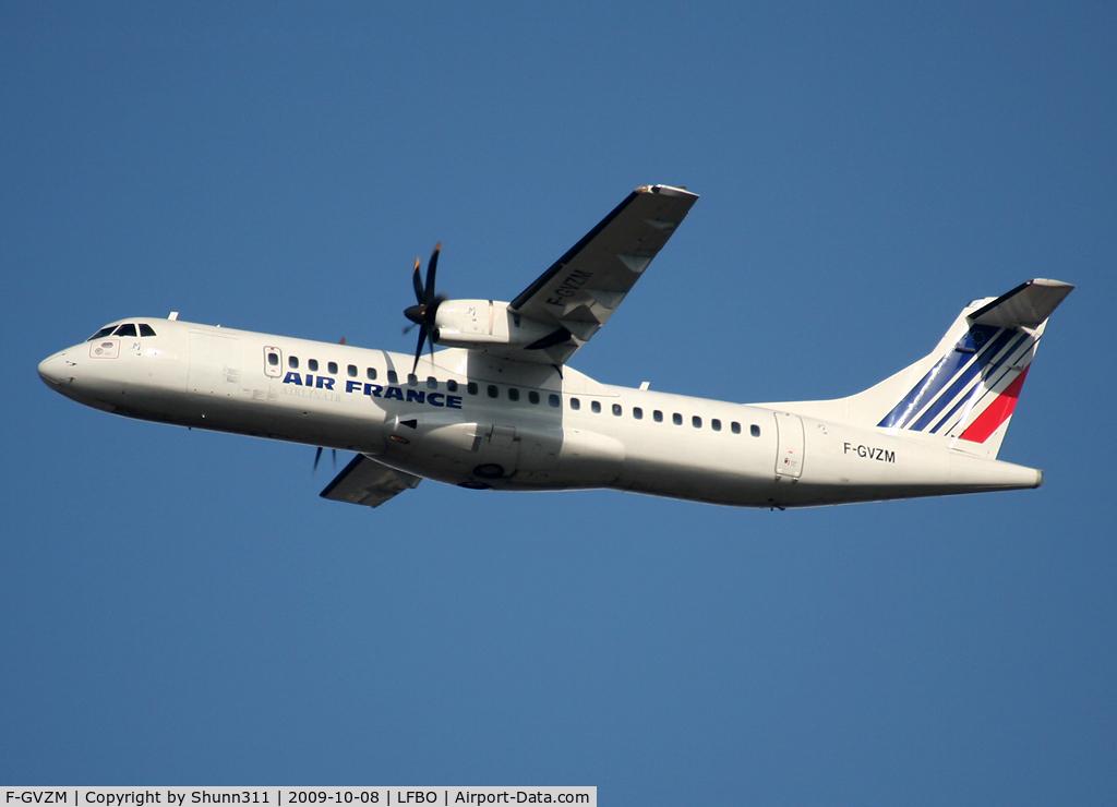 F-GVZM, 1999 ATR 72-212A C/N 590, Taking off rwy 32R