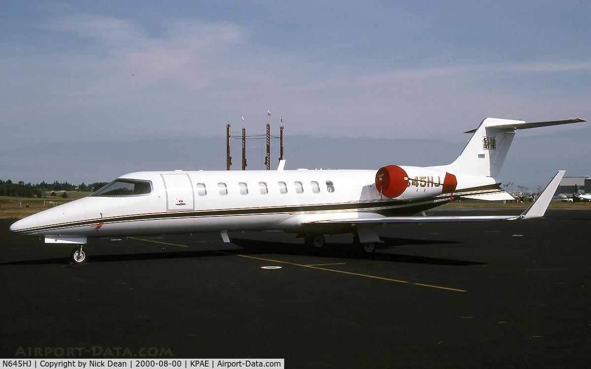 N645HJ, 2000 Learjet 45 C/N 45-087, KPAE