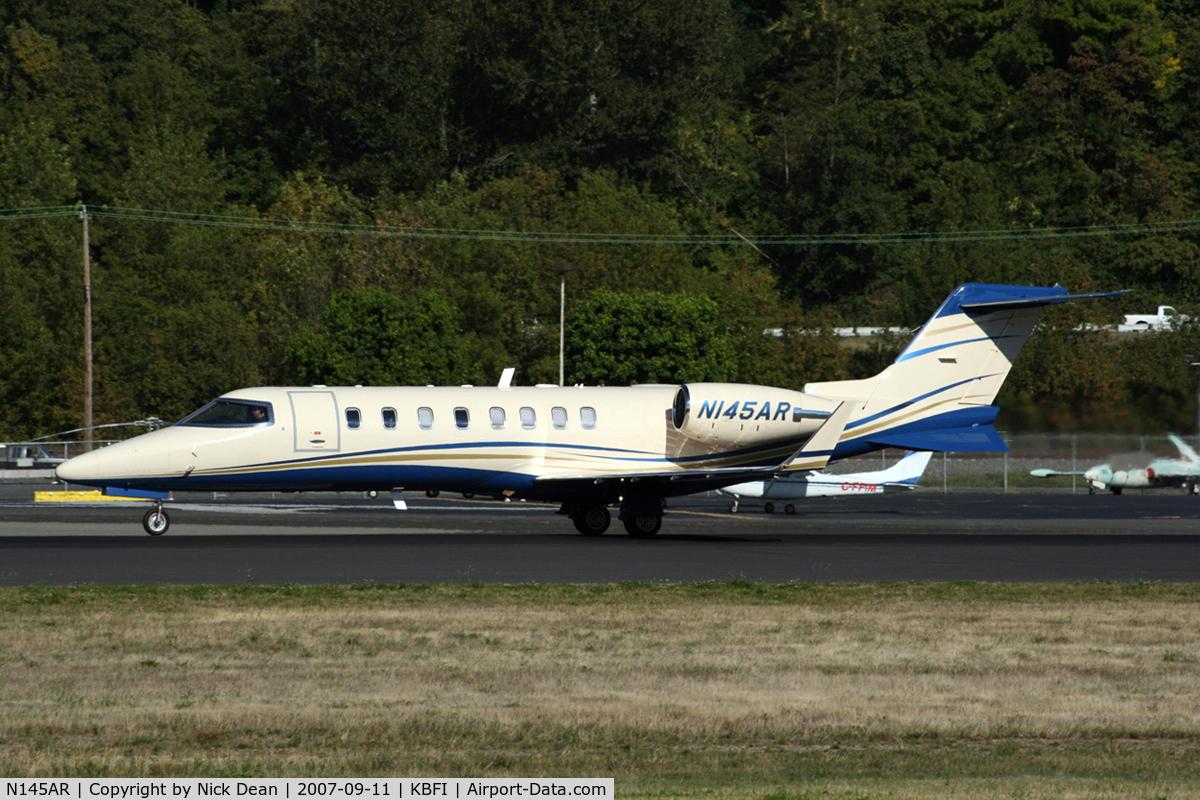 N145AR, 2002 Learjet 45 C/N 203, KBFI