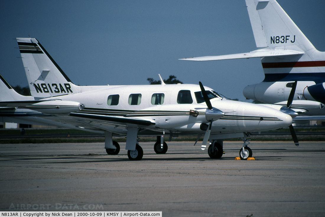 N813AR, 1977 Piper PA-31T C/N 31T-7820013, KMSY