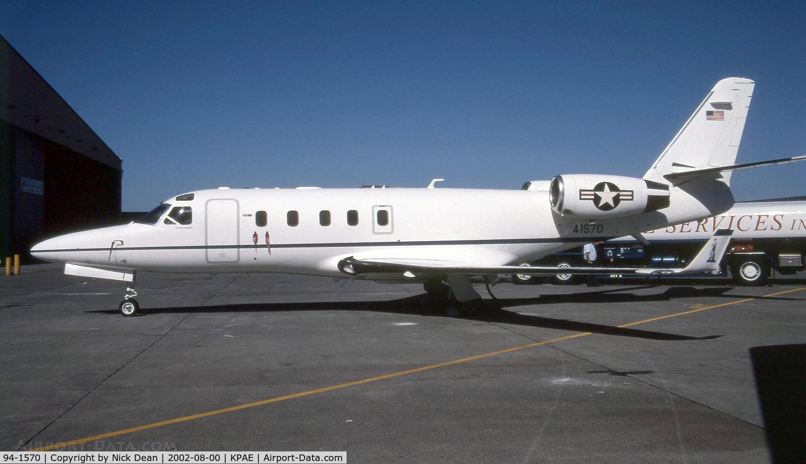 94-1570, 1994 Galaxy Aerospace C-38A Courier C/N 090, KPAE