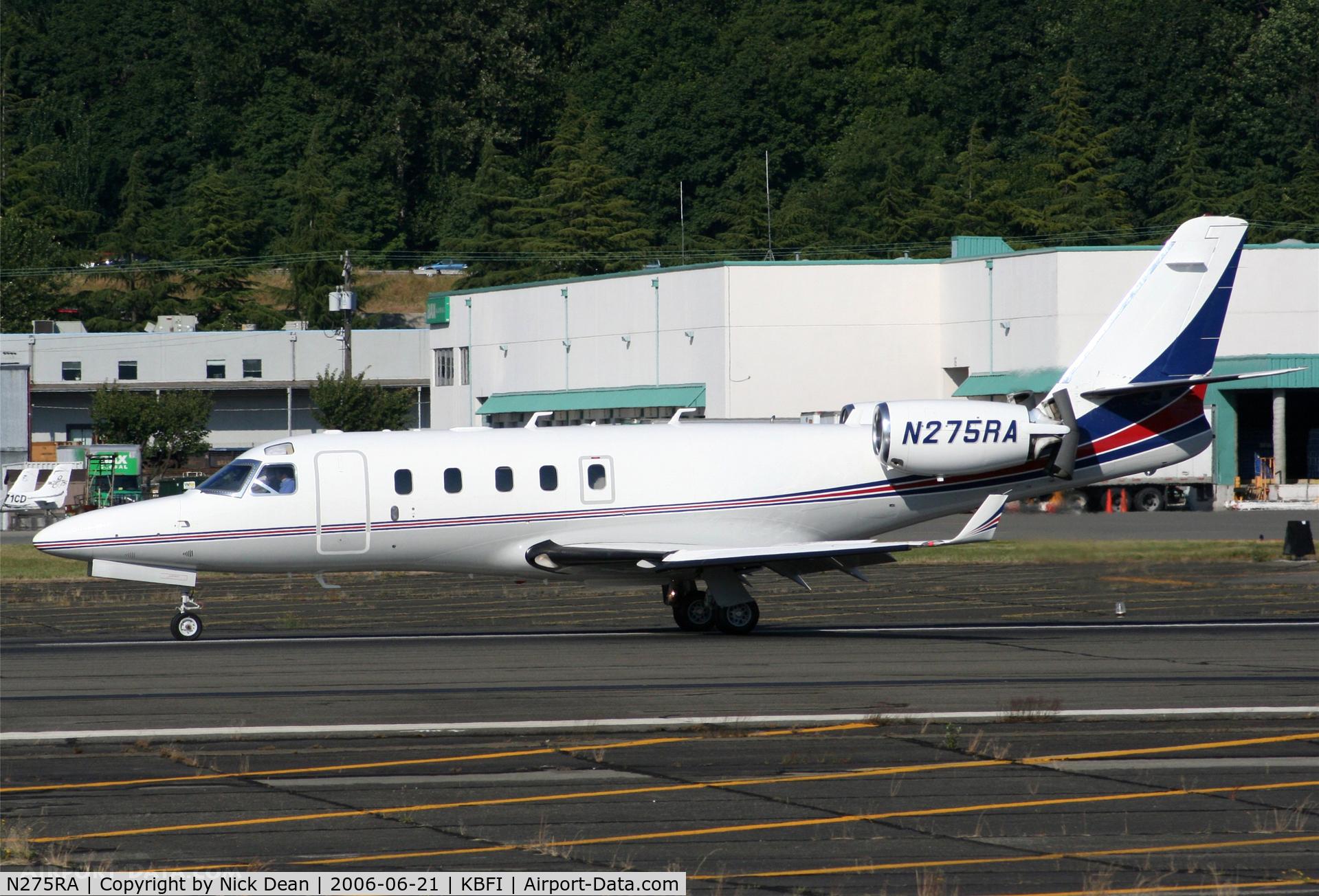 N275RA, 1998 Israel Aircraft Industries IAI-1125A Astra SPX C/N 098, KBFI
