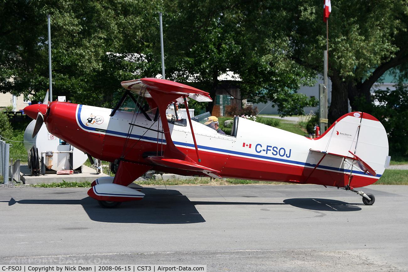 C-FSOJ, 1994 Steen Skybolt C/N 419, CST3 St. Lazare Quebec