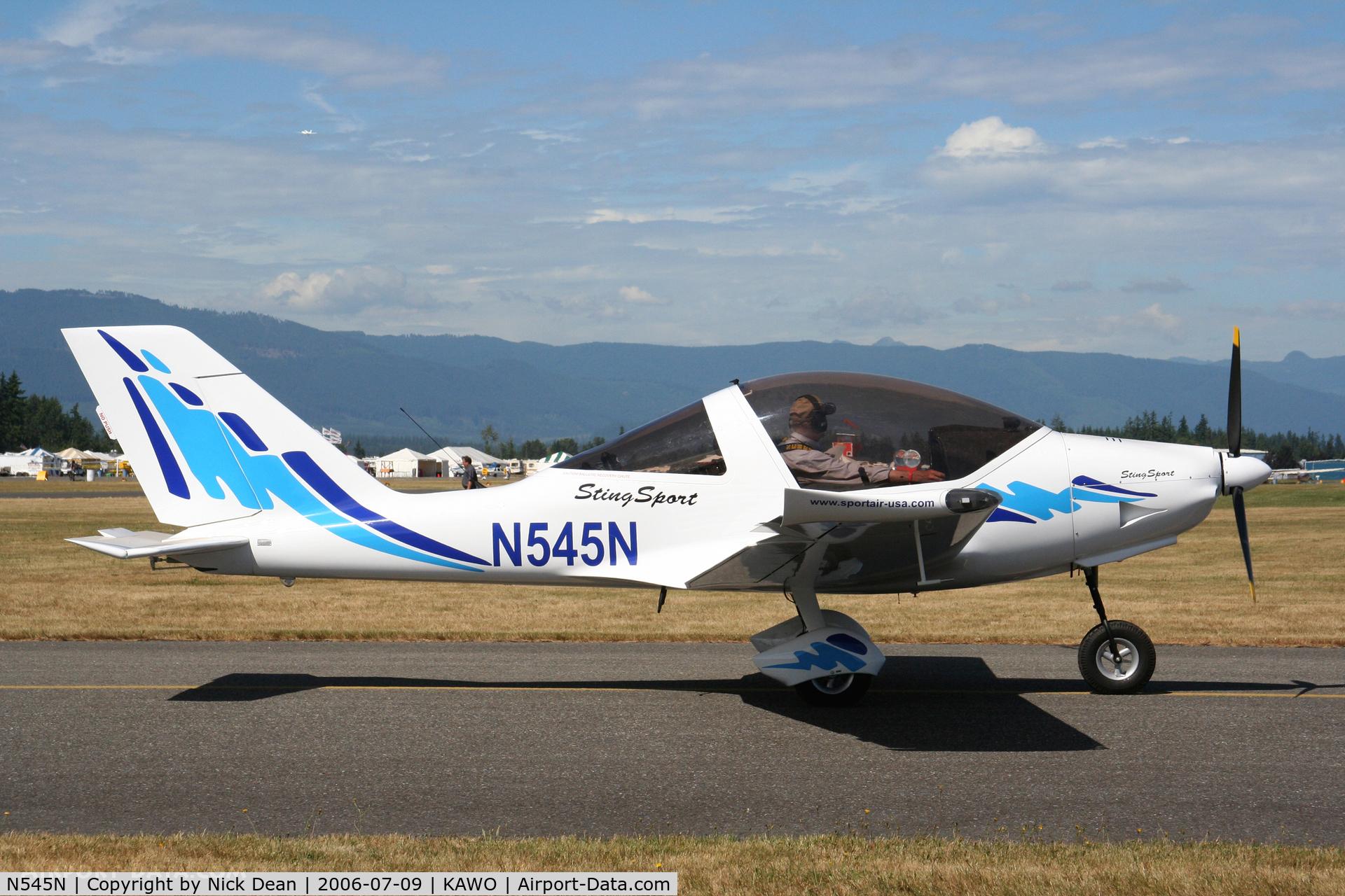 N545N, 2005 TL Ultralight TL-2000 Sting Sport C/N TLUSA123, KAWO