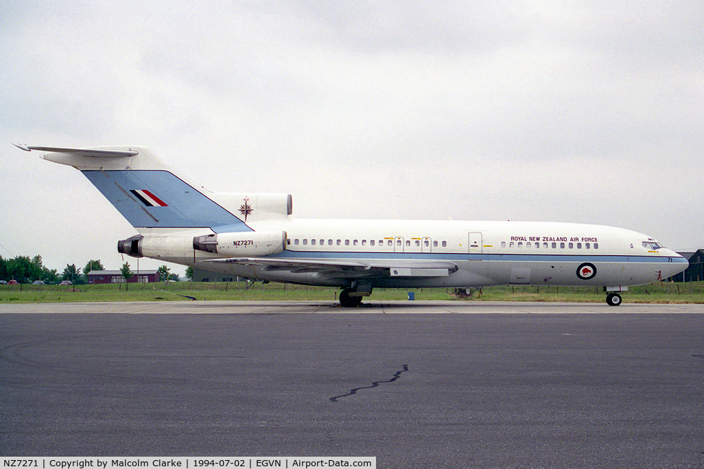 NZ7271, 1968 Boeing 727-100C C/N 19892, Boeing 727-100C at RAF Brize Norton's Photocall 94.