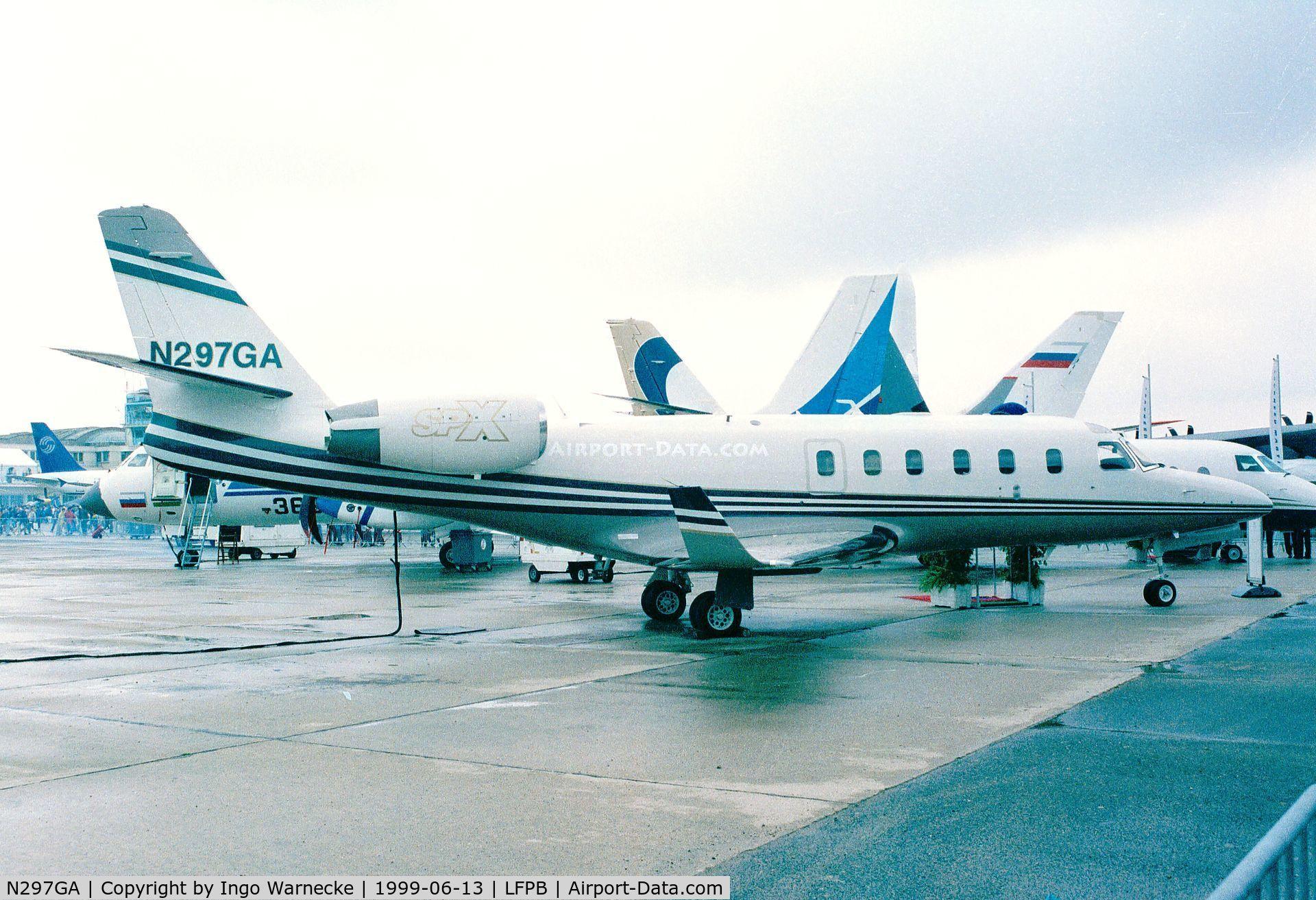 N297GA, 1999 Israel IAI-1125A Astra SPX C/N 111, IAI Astra SPX at the Aerosalon 1999, Paris