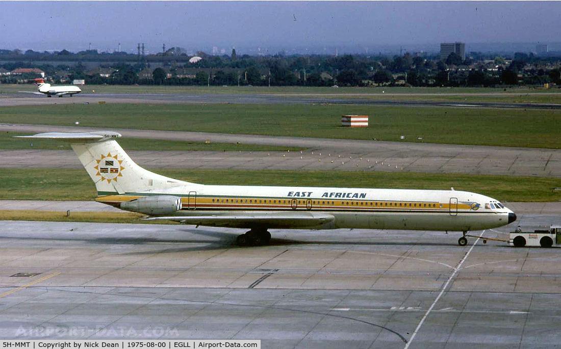 5H-MMT, 1966 Vickers Super VC10 Srs 1154 C/N 882, EGLL